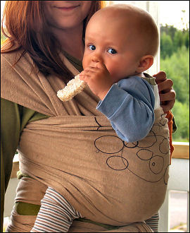 el Mam Earth, de 100% algodón orgánico, es más suave que el anterior y aguanta hasta los 15kg. Podemos encontrarlo en Bebés Naturales por 59.90\u20ac+