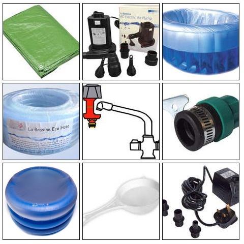 Crianza natural productos piscina de partos for Accesorios piscina