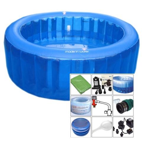 Crianza natural productos piscina de partos for Kit limpieza piscina